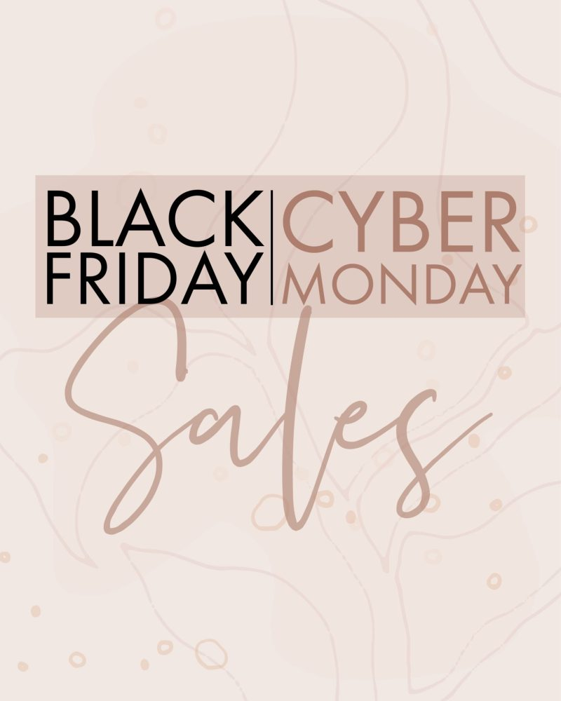 BEST OF BLACK FRIDAY + CYBER MONDAY SALES 2019
