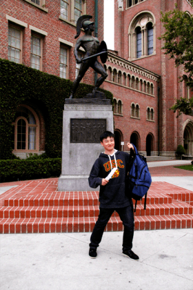 Cameron attends USC