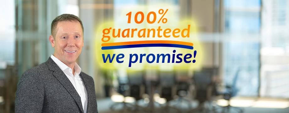 Full money back guarantee by Hunter Programs Education Services