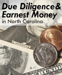 Due-Diligence-Earnest-Money-NC