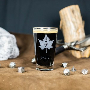 Druid Pint Glass