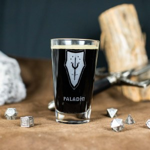 Paladin Pint Glass