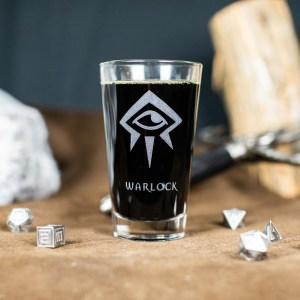 Warlock Pint Glass