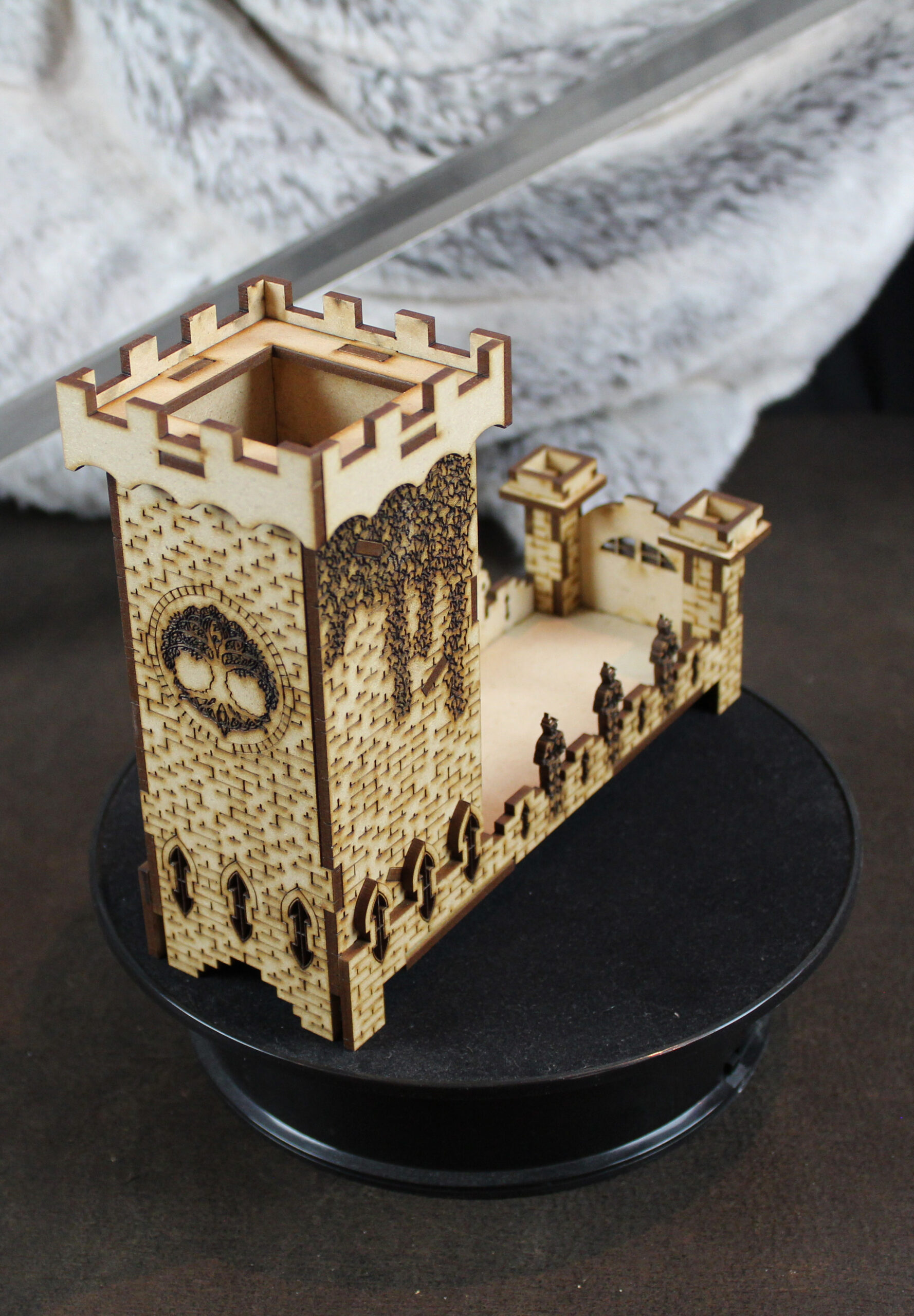 Royal Guard Dice Tower Back