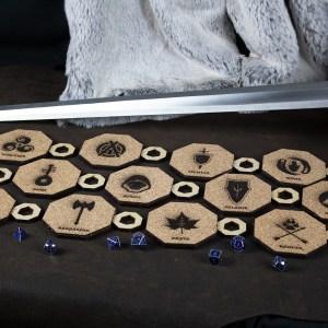 Set of 5 Class Inspiration Coasters