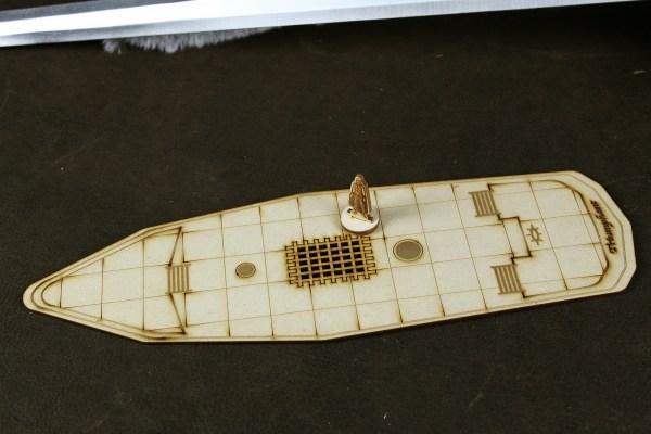 Triumphant Battle Map Boat
