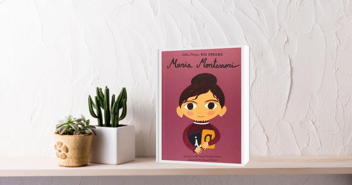 HuntersWoodsPH Books Gifts Little People Big Dreams Maria Montessori