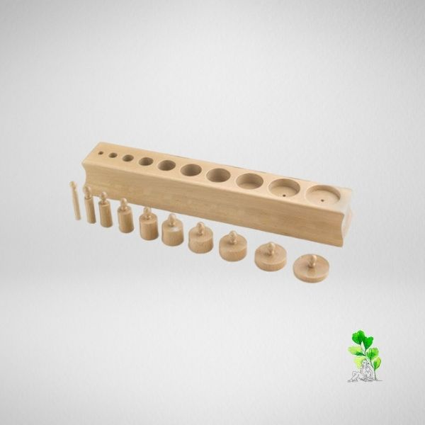 HuntersWoodsPH Checklist Sensorial Montessori Materials Toddler Preschool Cylinder Block 3