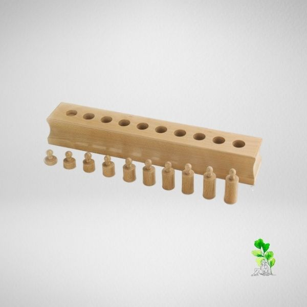 HuntersWoodsPH Checklist Sensorial Montessori Materials Toddler Preschool Cylinder Block 4
