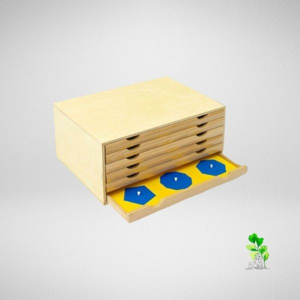 HuntersWoodsPH Checklist Sensorial Montessori Materials Toddler Preschool Geometric Cabinet