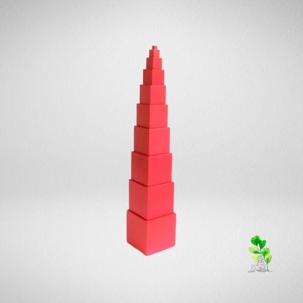 HuntersWoodsPH Checklist Sensorial Montessori Materials Toddler Preschool Pink Tower
