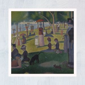 HuntersWoodsPH Montessori Culture Art Paintings Georges Seurat Sunday Afternoon