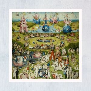HuntersWoodsPH Montessori Culture Art Paintings Hieronymus Bosch Garden Earthly Delights