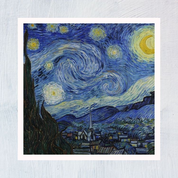HuntersWoodsPH Montessori Culture Art Paintings Vincent Van Gogh Starry Night