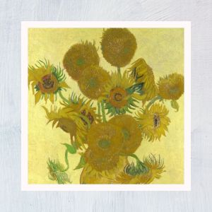 HuntersWoodsPH Montessori Culture Art Paintings Vincent Van Gogh Sunflowers