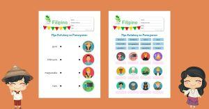 HuntersWoodsPH Filipino Mga Katulong sa Pamayanan Worksheets