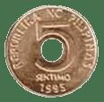 Philippine money 5 centavo coin