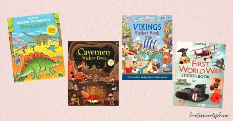 HuntersWoodsPH Montessori Sticker Books for Homeschooling