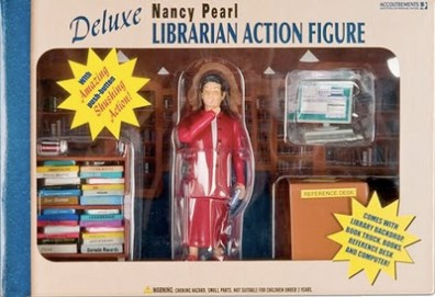 Nancy Pearl Librarian action figure