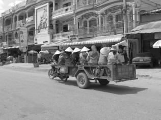 Town of Kampot, Kampot Province, Cambodia