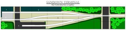 """Sandown Terminal (8' x 18"""")"""