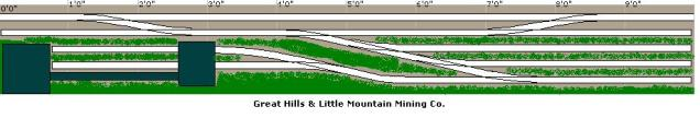 "Great Hills & Little Mountain Mining (10' x 15"")"