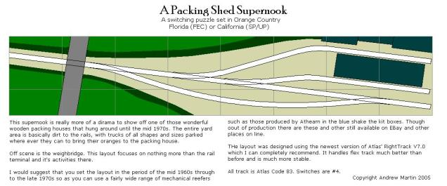 Orange County - A packing shed supernook