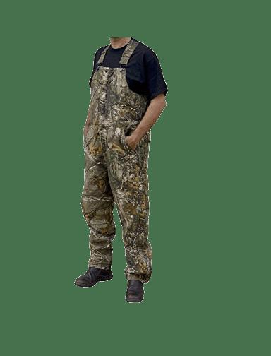 Berne Men's Original Camouflage Insulated Bib