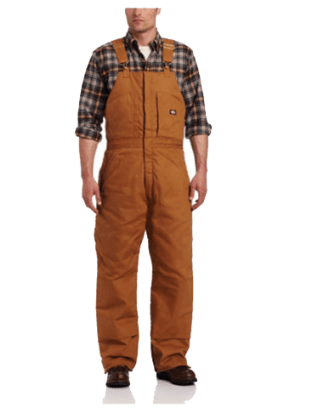 Dickies Men's Insulated Bib Overall