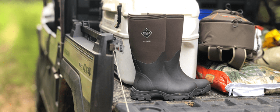 best rubber hunting boots