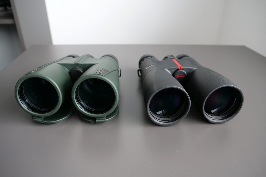 Delta Optical Forest II 10×50 and Kowa SV 10×50