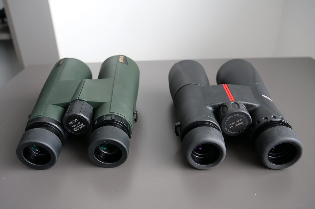 Delta Optical Forest II 10×50 and Kowa SV 10×50 Eyepiece
