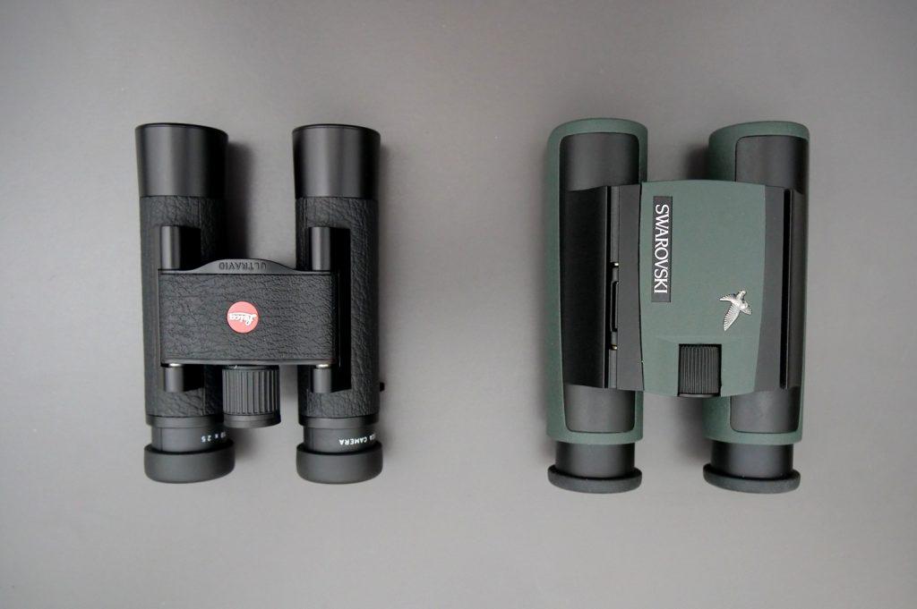 Leica Ultravid 10x25 BL AquaDura and Swarovski CL Pocket 10x25 Eyepieces