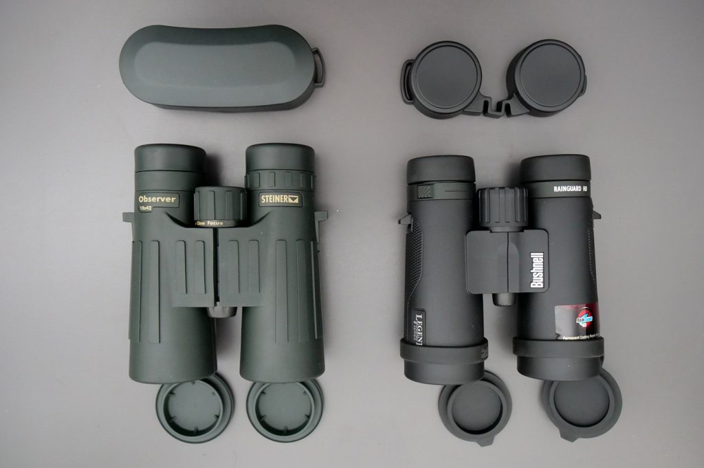 Steiner Observer 10x42 and Bushnell Legend E 10x42 Covers