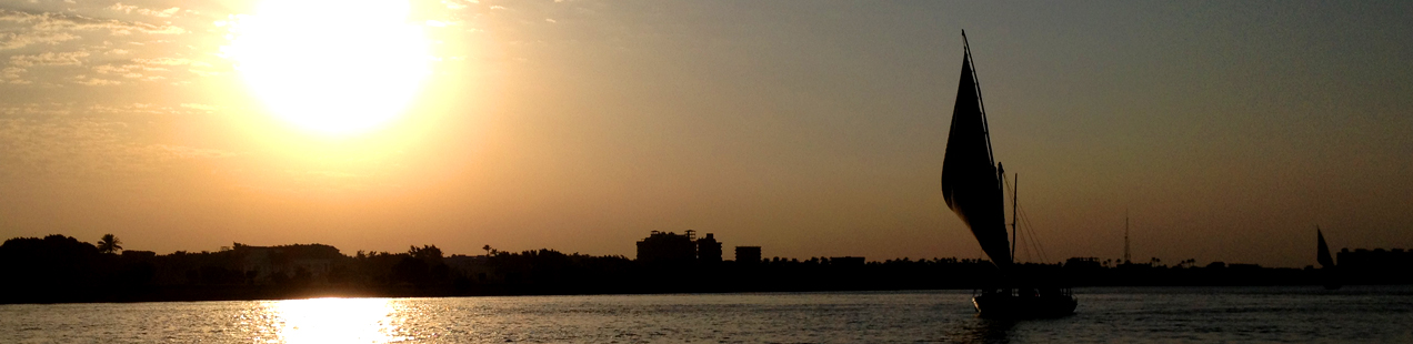 Felucca Nile Egypt Sunset