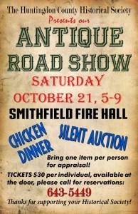 Antique Roadshow @ Smithfield Fire Hall