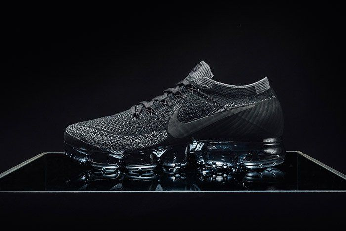 37fa6950b33b NIKELAB AIR VAPORMAX FLYKNIT TRIPLE BLACK - HUNTING FOR KICKS
