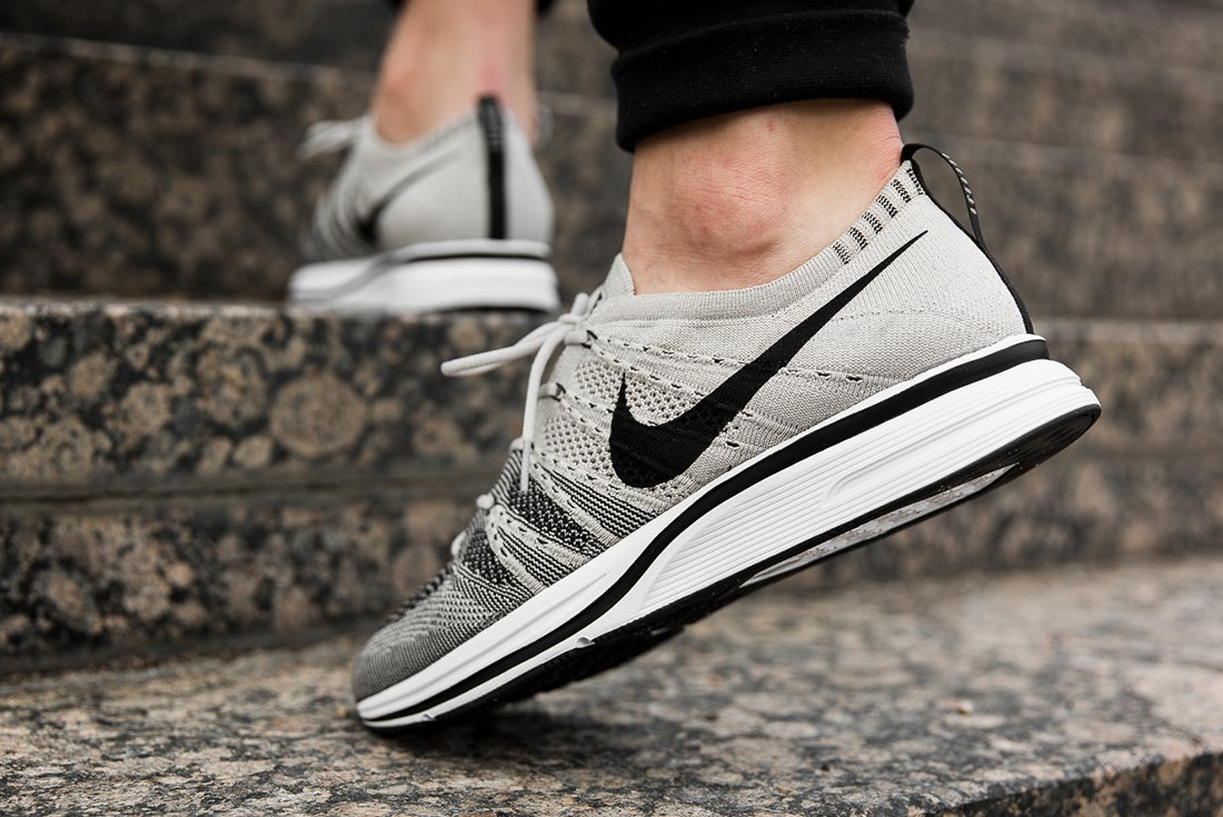 0f4e8cb422f2 ... get the nike flyknit trainer pale grey will be available from august 24  at shelflife df5bb