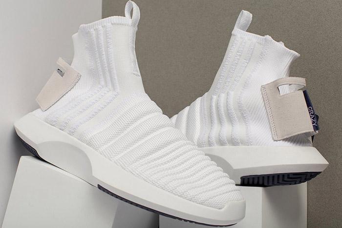 6fba0f7e2f75 ... adidas crazy 1 adv sock primeknit is one sleek space sneak