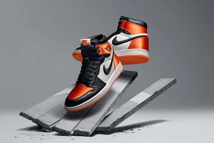 A Ladies-Exclusive 'Shattered Backboard' Air Jordan 1