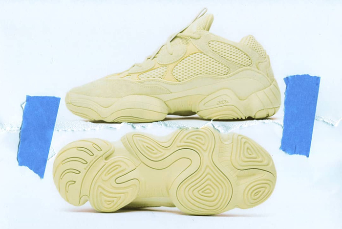 best loved d459f 81de4 Complete Store List for Kanye's 'Supermoon Yellow' Yeezy ...