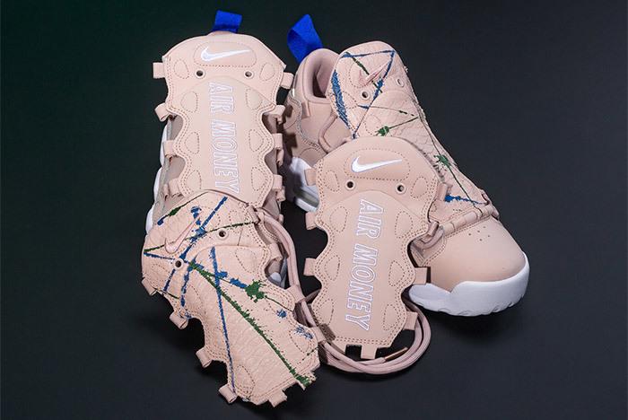 Nike's Air More Money Gets Splattered