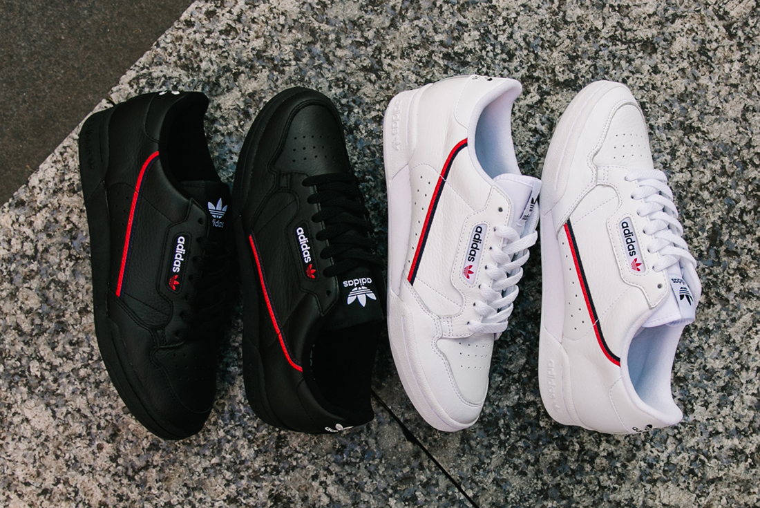 1118ad20caa Cop the adidas Continental 80 in Two Classic Colourways - HUNTING ...