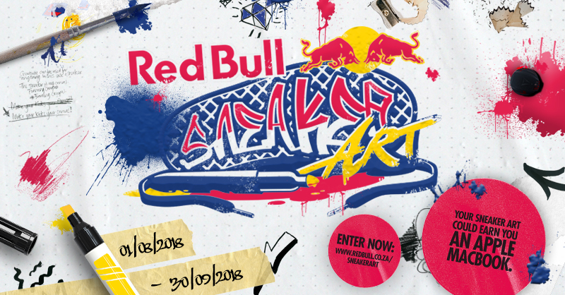 RED BULL SNEAKER ART