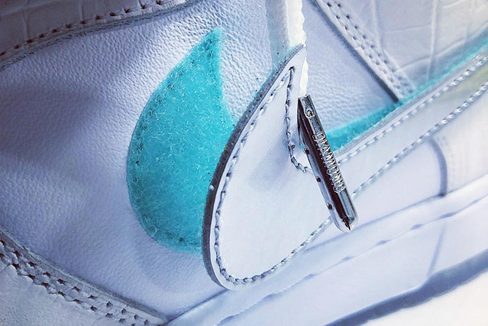 Nicky Diamonds Drops Another Nike SB Dunk 'Tiffany' Teaser