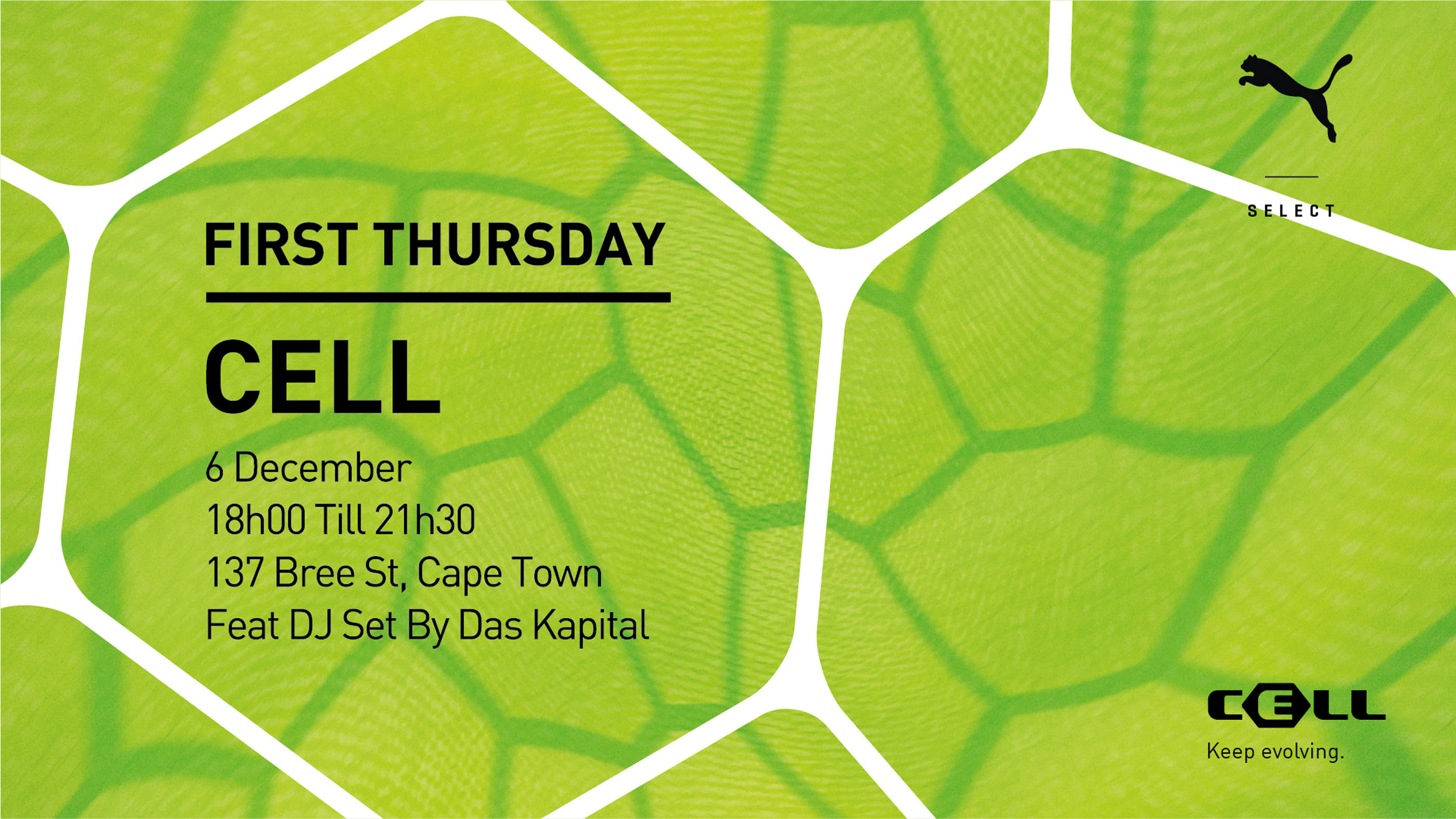Beats and Beer at PUMA SELECT Cape Town for First Thursday