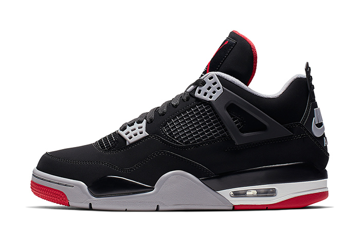 Official Pics: Air Jordan 4 'Bred' 2019 Retro