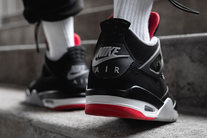 Take a Closer Look at the Air Jordan 4 'Bred'