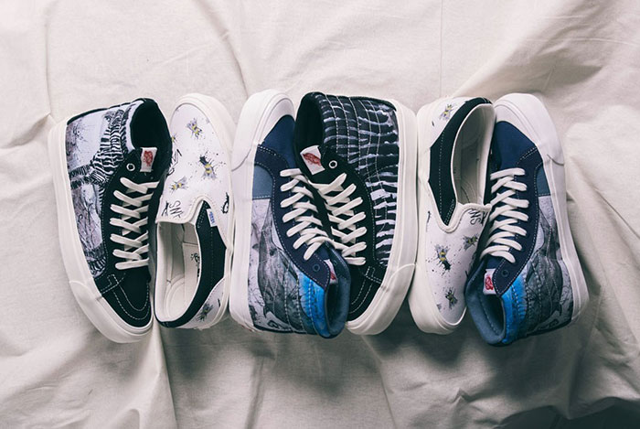 Closer Look: Ralph Steadman x Vans Collection