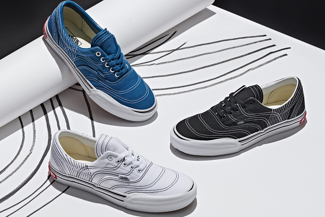 Vans Era Serves as a Canvas to Design Expression with 3RA Vision Voyage Assortment